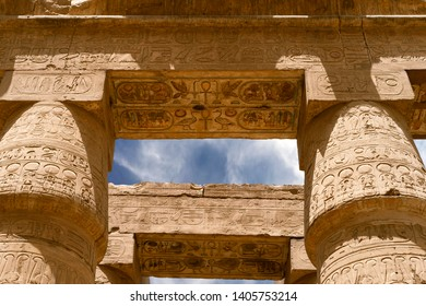 The Karnak Temple Complex, commonly known as Karnak. Egypt, Luxor.