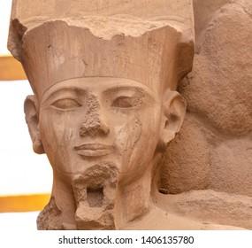 The Karnak Temple Complex known as Karnak near Luxor Egypt