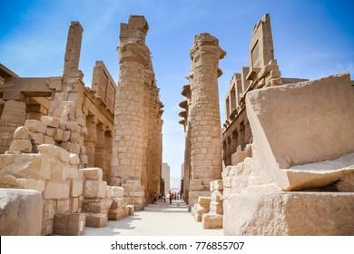 Karnak Temple Complex. Luxor. Egypt.