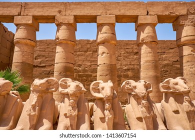 Karnak temple complex and Karnak Open Air Museum (about 1250 BC), Luxor, Egypt