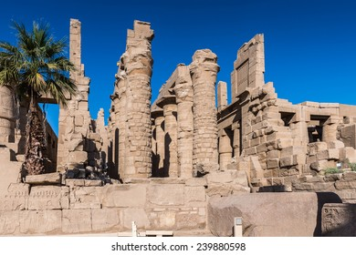 of the Karnak temple, Luxor, Egypt (Ancient Thebes with its Necropolis).