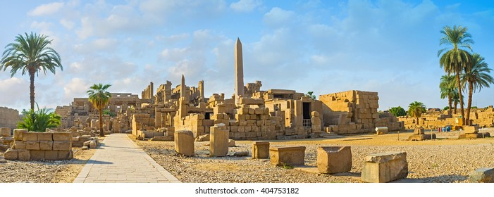 The Karnak Temple is one of the most impressive ancient landmarks in Egypt, Luxor.