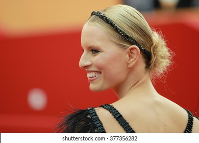 Karolina Kurkova arrives at the 'Pirates of the Caribbean: On Stranger Tides' premiere during the 64th Annual Cannes Film Festival at the Palais des Festivals on May 14, 2011 in Cannes, France.