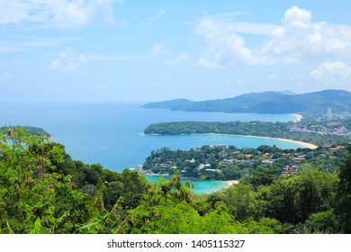 Karon View Point in Phuket ,Thailand.