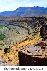 Karoo National Park view in the Great Karoo of South Africa