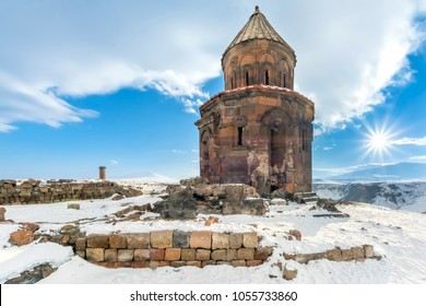 Kars, Turkey Ani Site of Historical Cities (first entry into Anatolia, the Silk Road, an important trade route in the Middle Ages)