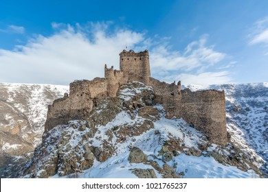 Kars, Turkey, Devil Castle, Cildiran Castle in historical sources, Kal-I Devil, escape, demon fortress is also passed.