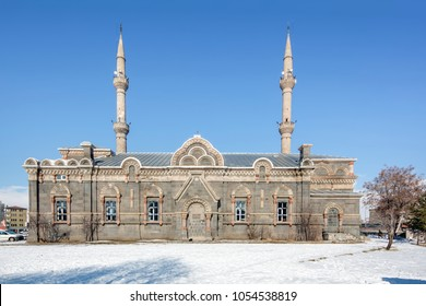 Kars, Turkey, Fethiye Mosque In Kars. Aleksandr Nevski Cathedral (Russian military Church) the dome of the cathedral has been removed and the Orthodox Church of the cathedral has become a mosque.