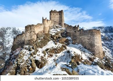 Kars, Turkey, ''Seytan Kalesi'' Devil Castle, Cildiran Castle in historical sources, Kal-I Devil, escape, demon fortress is also passed.