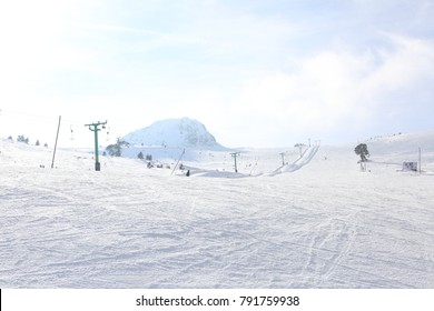 Kartalkaya Snowboard Kayak Pisti Stock Photo Edit Now 791759941
