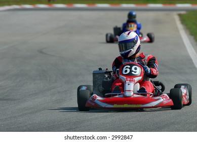 Karting During Race