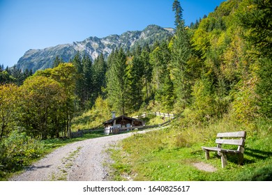 Karwendel mountains in austrian Tyrol