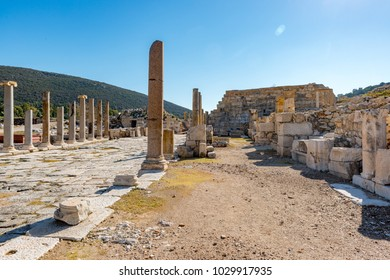 Kas, Antalya - Turkey. January 30, 2018. The Patara Ancient City in Kas, Antalya - Turkey.Patara was founded in the V century BC and soon became the largest port of Lycia.The Temple of Apollo with ora