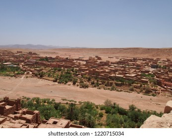 Kasbah Ait Benhaddou (Ksar of Ait-Ben-Haddou)old town in the Sahara Desert in Morocco, UNESCO World Heritage.