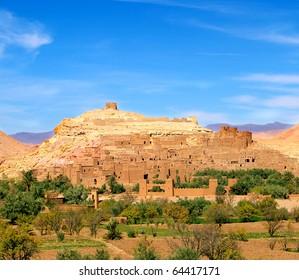 Kasbah Ait Benhaddou.Unesco heritage