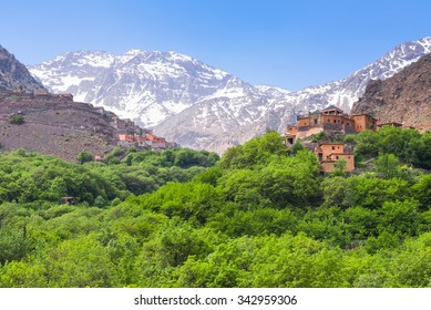 Kasbah du Toubkal,  Imlil in the Atlas Mountains (Morocco)
