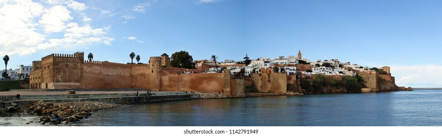 Kasbah of the Oudaias of Rabat in Morocco.