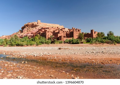 The Kasbahs of Ait Ben Haddou in the south of Morocco, Africa. / The Kasbahs of Ait Ben Haddou