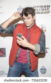 Kash Hovey attends Red Carpet Halloween Hotness 4: Heating Up For the Cure at American Legion Post 43, Los Angeles, California on October 10th 2017