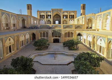 Kashan / Iran - 05 Oct 2012: Agha Bozorg Mosque, Kashan, Iran