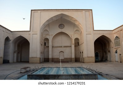 KASHAN, IRAN - AUGUST 29: Mir Emad mosque at 29 August, 2018 at Kashan, Iran. Mir Emad is a beautiful historical mosque in the city.