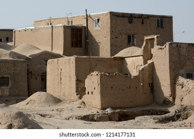 KASHAN, IRAN - AUGUST 29: Old city at 29 August, 2018 at Kashan, Iran. Kashan has a charming medieval old city.