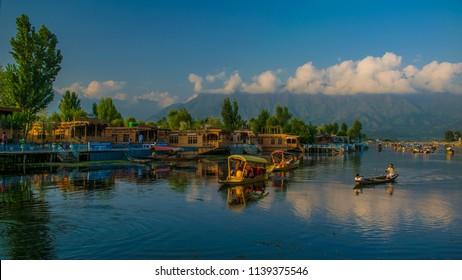 Kashmir Dal Lake, Srinagar Dal Lake, Shikara in Dal Lake