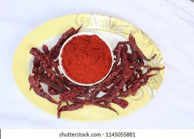 Kashmiri  Chilli Powder with chilli