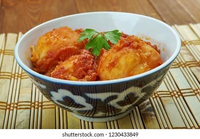 Kashmiri Dum Olav - make with baby potatoes  add ground fennel seeds.