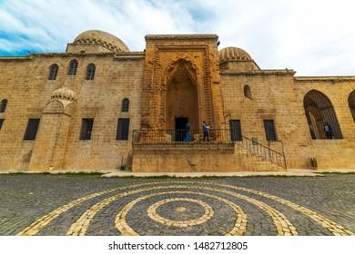Kasimiye Madrasah (Kasimiye Medresesi) in Mardin, Turkey. Historical madrasah in Mardin city.