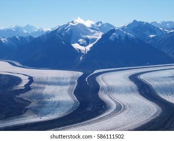 Kaskawulsh glacier, Yukon, Canada