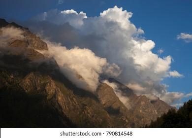 Kasol to Kheerganga trek, Himachal Pradesh, India
