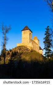 Castillo de Kasperk en Sumava, República Checa