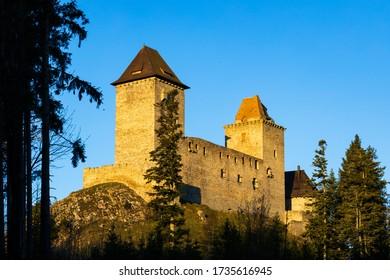 Kasperk castle in Sumava, Czech Republic