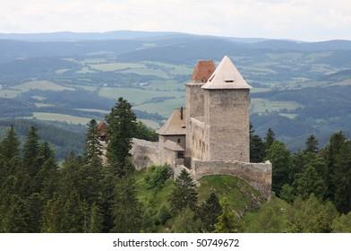 Kasperk,  medieval  castle, Southwestern Bohemia, Czech Republic