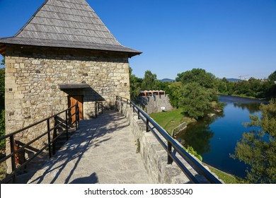 Kastel Fortress and Vrbas River in Banja Luka - Shutterstock ID 1808535040