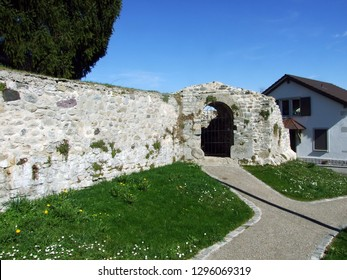 Kastell Tasgetium or Romische Ruinen Tasgaetium, Stein am Rhein - Canton of Schaffhausen, Switzerland