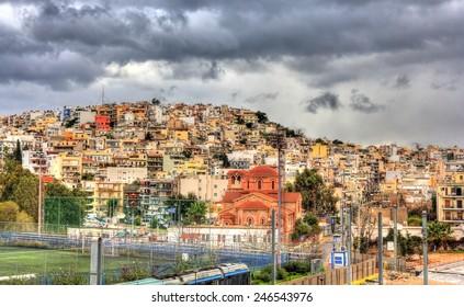 Kastella-Mikrolimano district of Athens - Greece