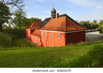 Kastellet in Copenhagen. The old military fortress. Denmark