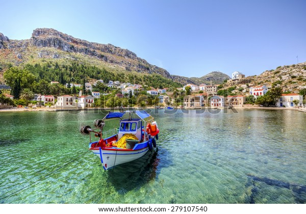 Kastellorizo (Megisti,Meis), Greece (HDR shot )