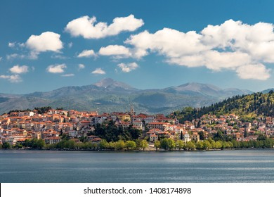 Kastoria is a city in northern Greece in the region of Western Macedonia, situated on a promontory on the western shore of Lake Orestiada.