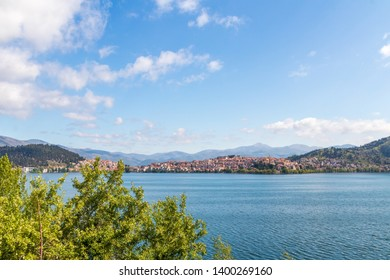 Kastoria is a city in northwestern Greece. Height above sea level - 700 meters. The city is located on the western shore of Lake Kastoria (Orestiada).