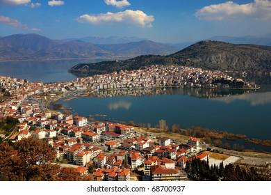 Kastoria and Orestias Lake