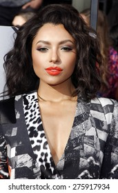 Kat Graham at the 2014 MTV Movie Awards held at the Nokia Theatre L.A. Live in Los Angeles on April 13, 2014 in Los Angeles, California.