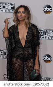 Kat Graham attends the 2016 American Music Awards in Los Angeles, California on November 20, 2016 at the Microsoft Theater