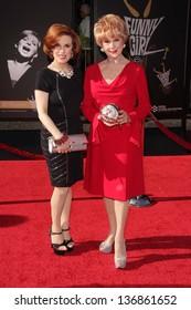 Kat Kramer, Karen Kramer at the TCM Classic Film Festival Opening Night Red Carpet Funny Girl, Chinese Theater, Hollywood, CA 04-25-13