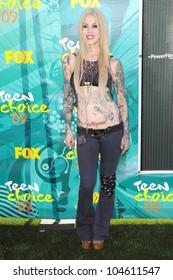 Kat Von D at the Teen Choice Awards 2009. Gibson Amphitheatre, Universal City, CA. 08-09-09