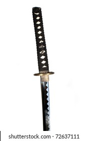 Katana - Japanese sword isolated over white background