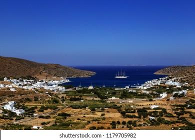Katapola Village Amorgos Island