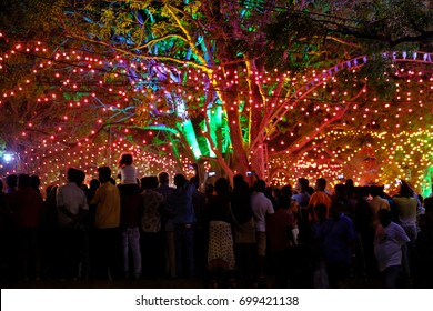 Kataragama Perahera religious festival, Sri Lanka, 2017